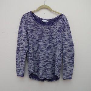 Lee Riders Women's Knit Heather Purple Sweater S